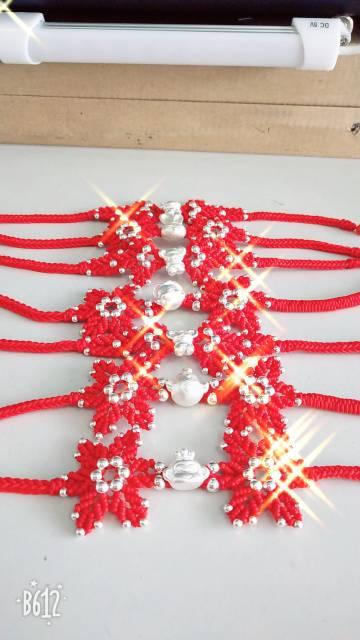 中国结论坛 一组红绳手链  作品展示 215212ie8oef6bw8ibbn5h