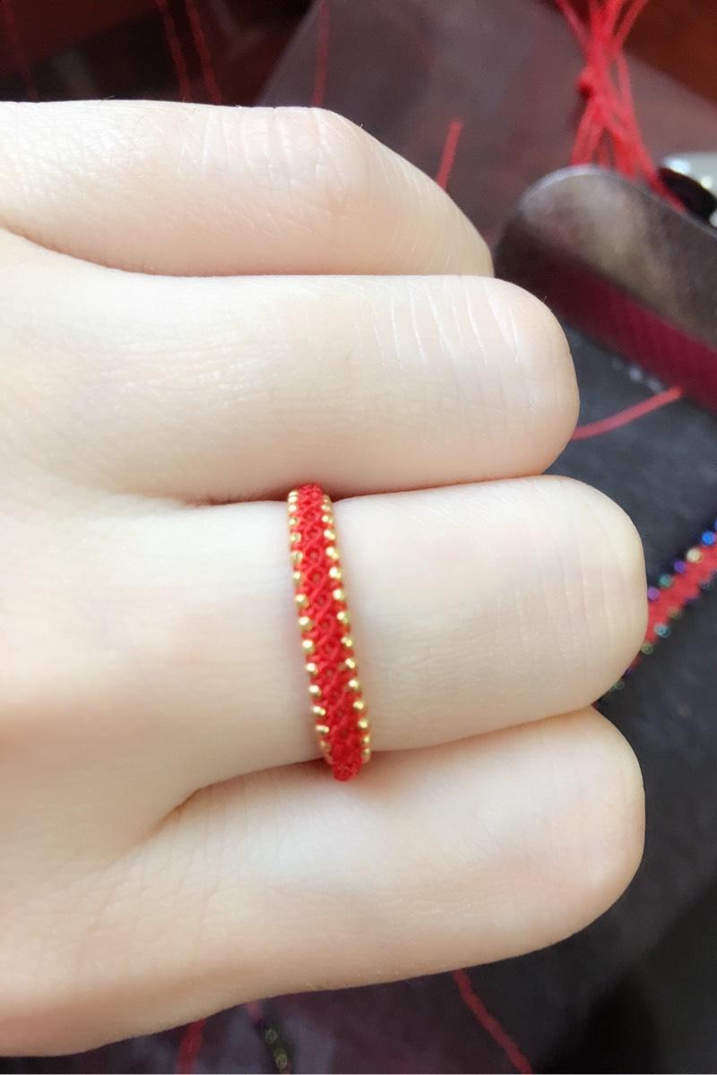 中国结论坛 极细斜卷结戒指  作品展示 171441k8hbxa5qho1hsoy6