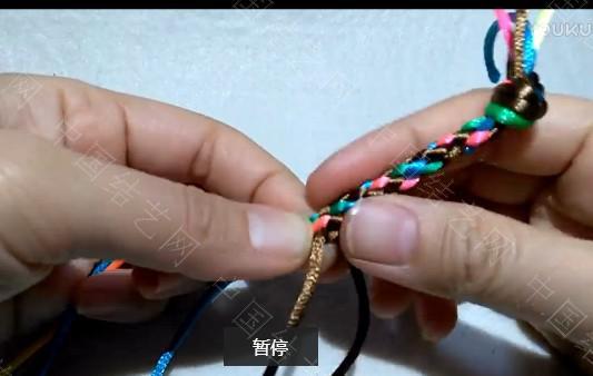 中国结论坛 六股圆编方法.mp4- 绳结教程 视频教程  视频教程区 112703d1ujrekfc52x6xrf