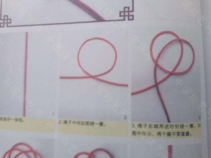 中国结论坛 这单线纽扣结教程是不是不对啊?  结艺互助区 114914j0m9lbgc0z0mq8jc