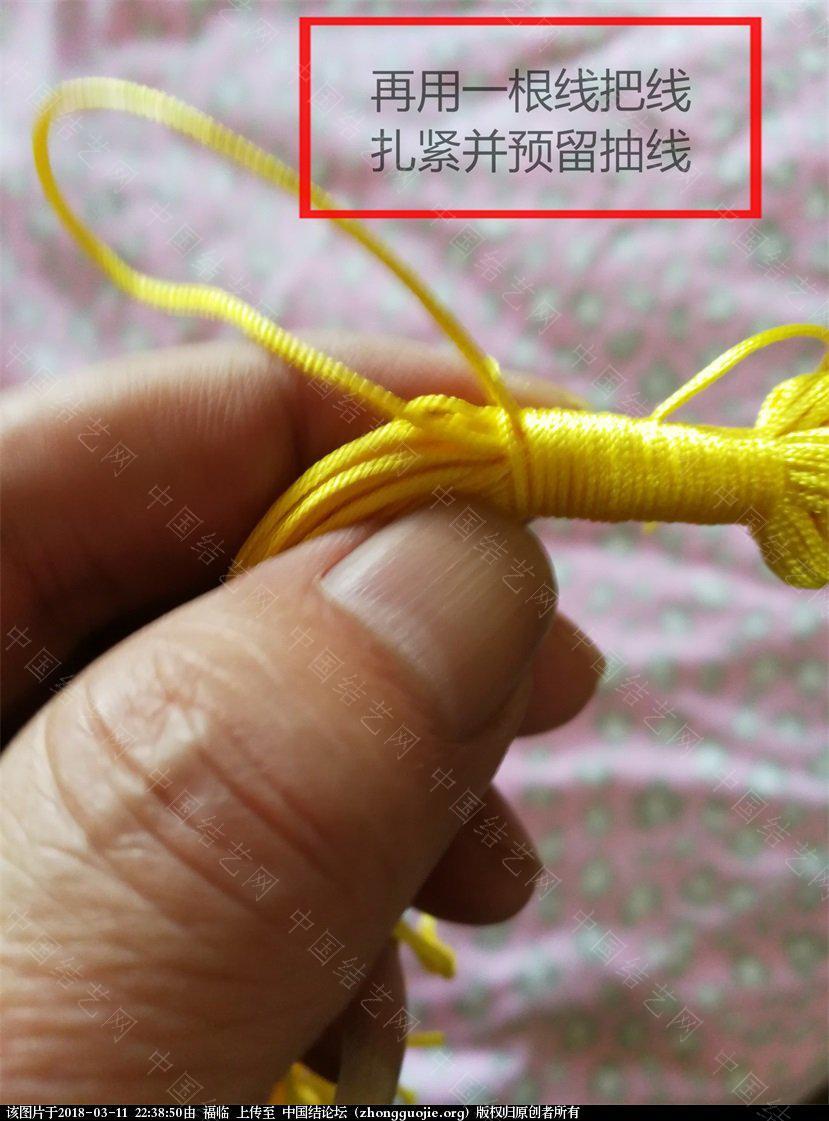 中国结论坛 中国结孙悟空的制作方法(基础型)一:头的制作  立体绳结教程与交流区 223323kaah8wpvibwzsafv