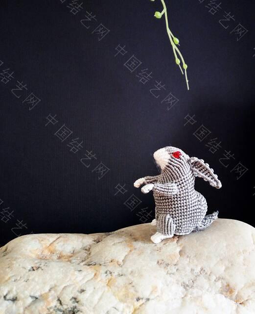 中国结论坛 十二生肖之小兔  立体绳结教程与交流区 163050avpot44v8pofopua