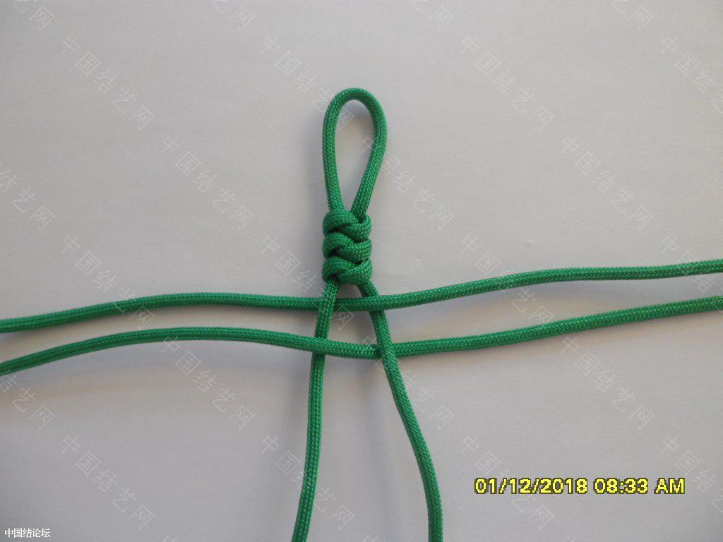 中国结论坛 一款伞绳十字挂件     『原创』 一根绳子编法大全简单,中国结编织论坛,吉祥结挂饰的编发视频,吉祥结挂件怎么做,吉祥挂件手工 图文教程区 161517qarz3ajsvzadtmjr