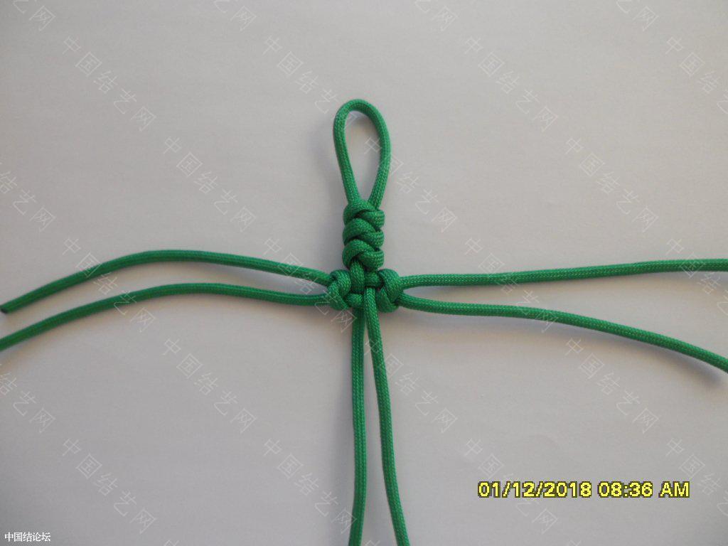 中国结论坛 一款伞绳十字挂件     『原创』 一根绳子编法大全简单,中国结编织论坛,吉祥结挂饰的编发视频,吉祥结挂件怎么做,吉祥挂件手工 图文教程区 161531yjsjb65oaijas35a