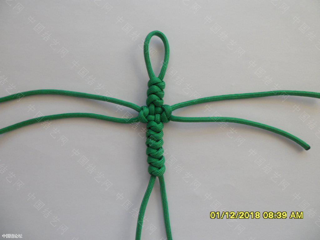 中国结论坛 一款伞绳十字挂件     『原创』 一根绳子编法大全简单,中国结编织论坛,吉祥结挂饰的编发视频,吉祥结挂件怎么做,吉祥挂件手工 图文教程区 161548aqm9z5qiqianq35i