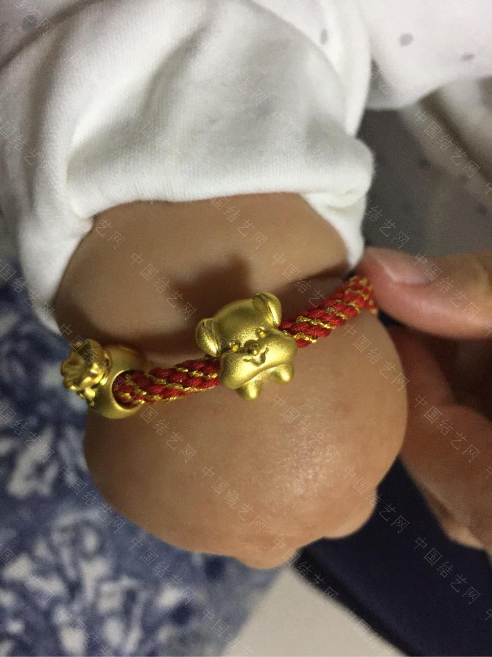 中国结论坛 给宝贝儿编的手链! 手链,宝贝,宝贝儿,适合编给对象的手链,给男朋友编手链图解 作品展示 183736g768ih33lnho1i31