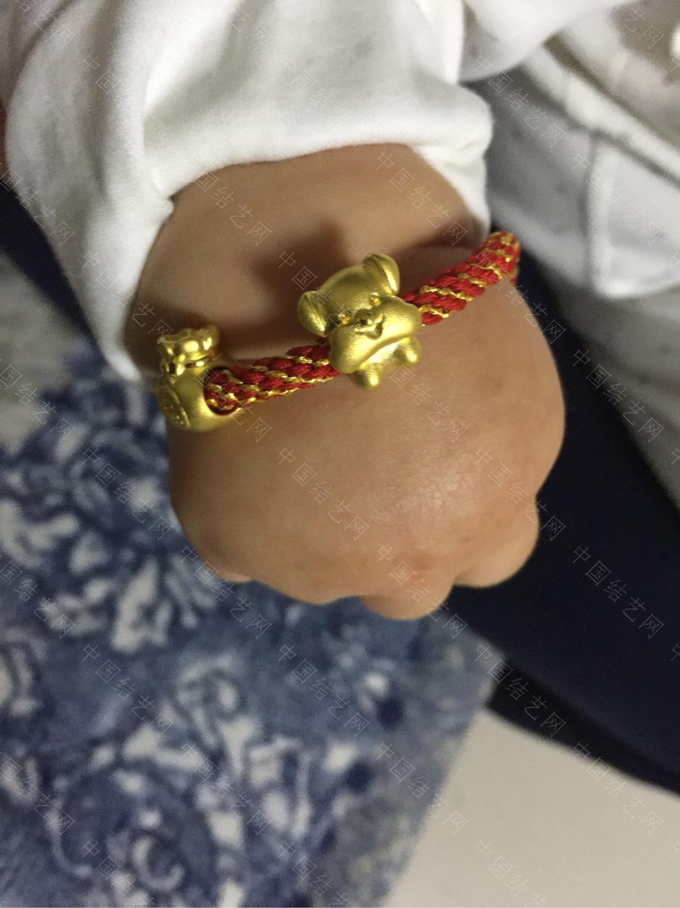 中国结论坛 给宝贝儿编的手链! 手链,宝贝,宝贝儿,适合编给对象的手链,给男朋友编手链图解 作品展示 183737ixdufyf7yh1jphfj