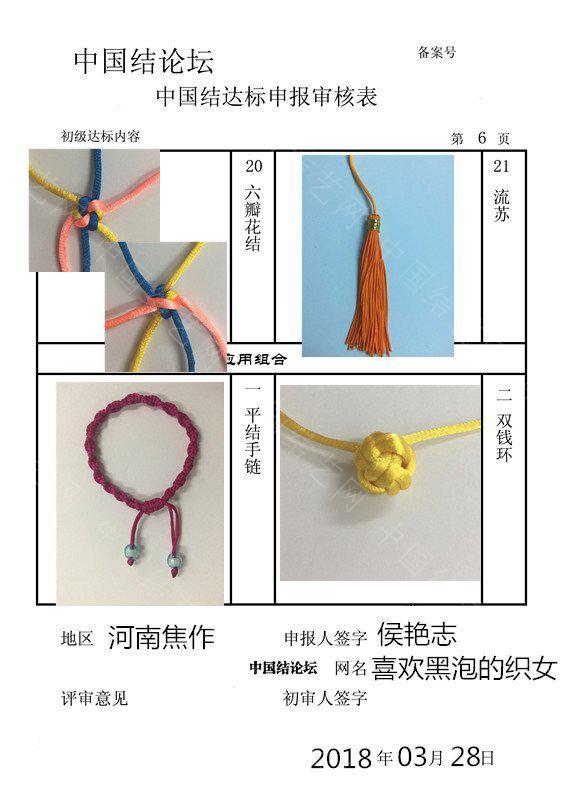 中国结论坛 喜欢黑泡的织女-初级达标申请  中国绳结艺术分级达标审核 162952acwdpa2mw9acmow2