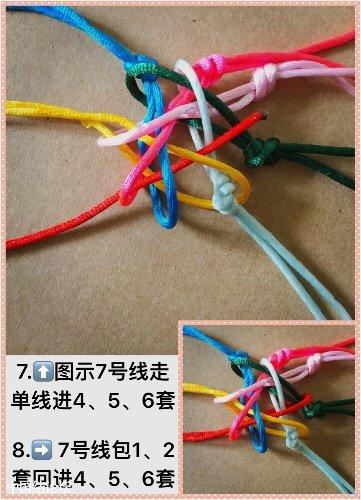 中国结论坛 十耳10色团锦结  图文教程区
