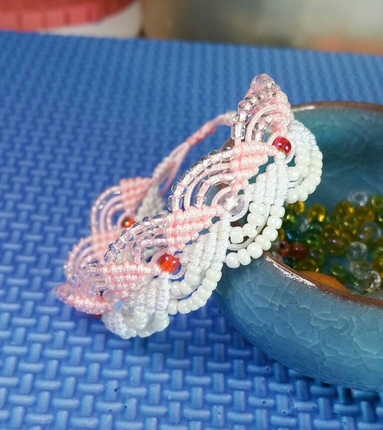 中国结论坛 破碎的心手链  作品展示 122059h6ywpqccfy363p1g