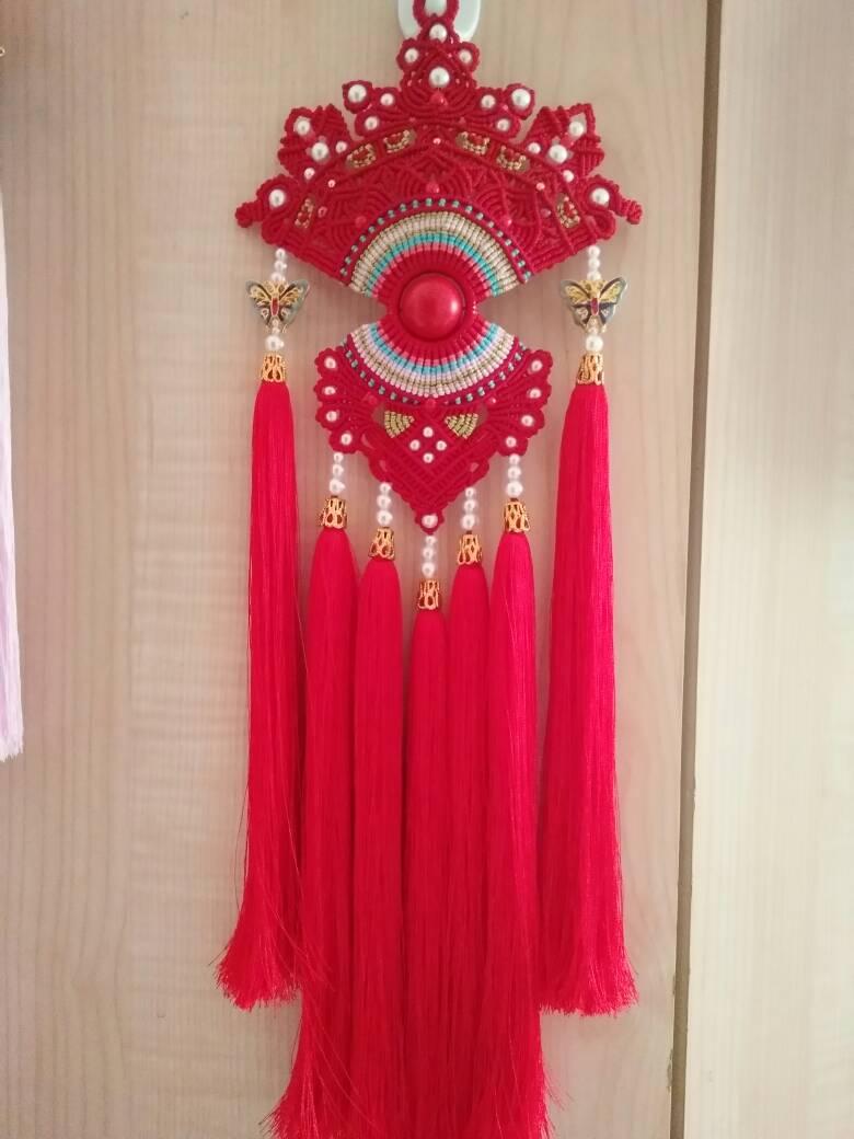 中国结论坛 受牧歌的春天启发,自创的一款花嫁凤冠  作品展示 073222r5vuoij5p0py2vo2