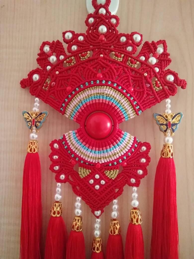 中国结论坛 受牧歌的春天启发,自创的一款花嫁凤冠  作品展示 073223e4mji4purpm6jmj6