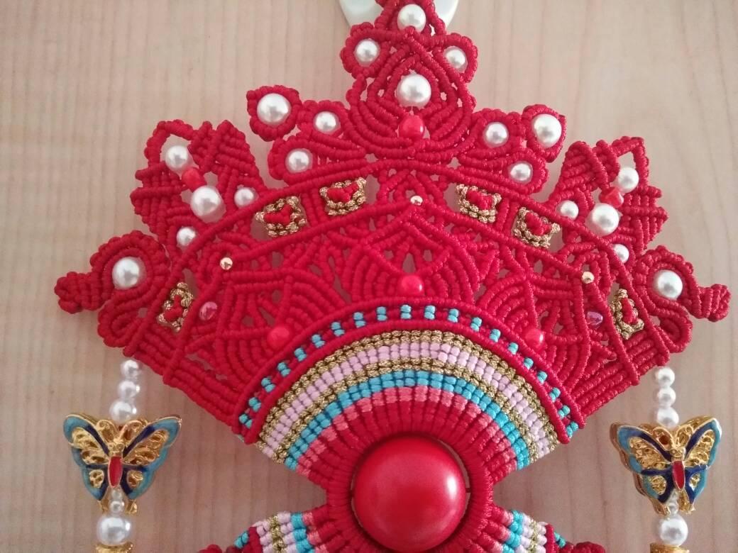 中国结论坛 受牧歌的春天启发,自创的一款花嫁凤冠  作品展示 073224sv7jm299w6r6z8m9