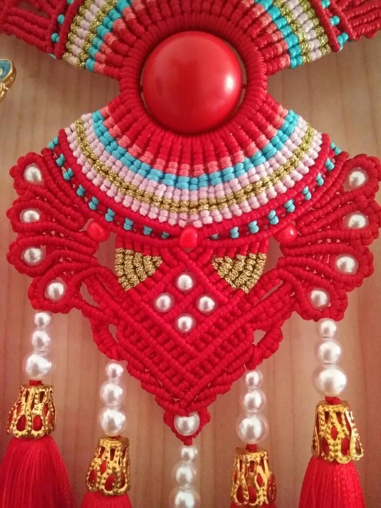中国结论坛 受牧歌的春天启发,自创的一款花嫁凤冠  作品展示 073225hcown9w9w5tppqoc