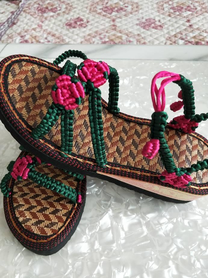 中国结论坛 手工凉鞋  作品展示 080224kwouxdbu8qo1zc4w