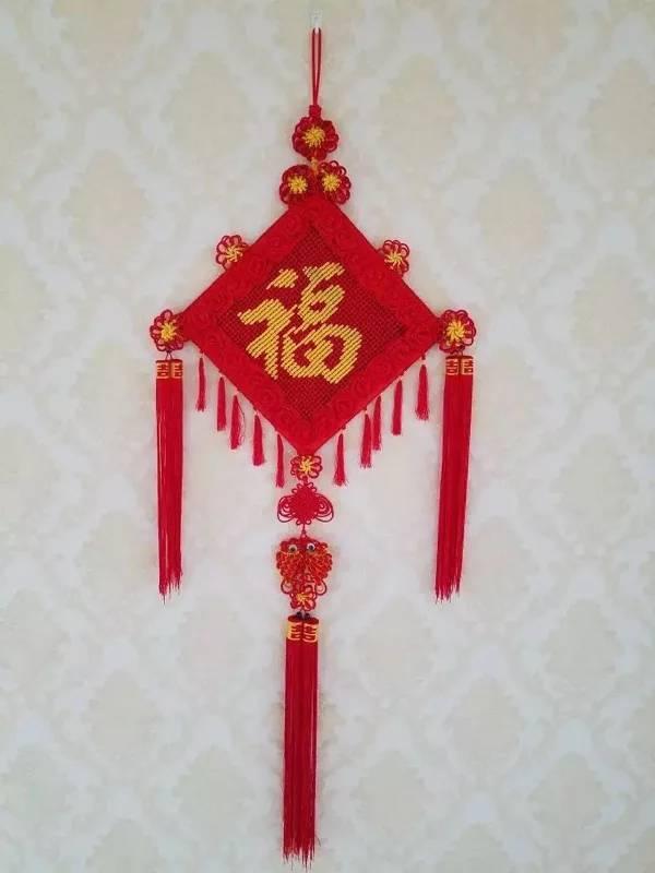 中国结论坛 福字大号客厅中国结  作品展示 143414lb6r457342dch02r