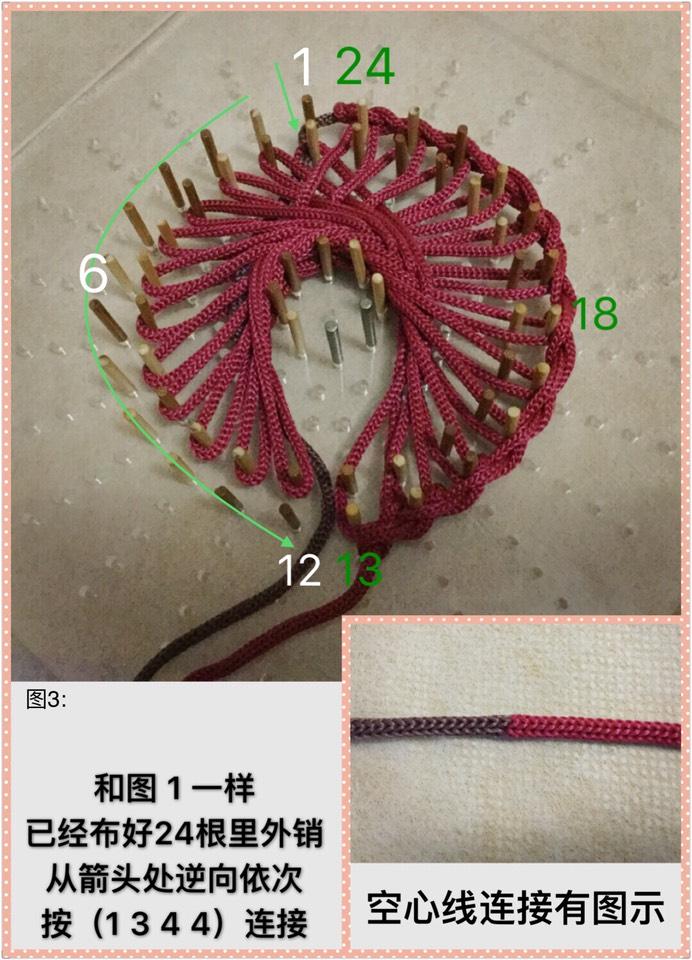 中国结论坛 24耳双色花边结星辰结组合4J(1344)  作品展示 102933fch7q2og24bnko2k