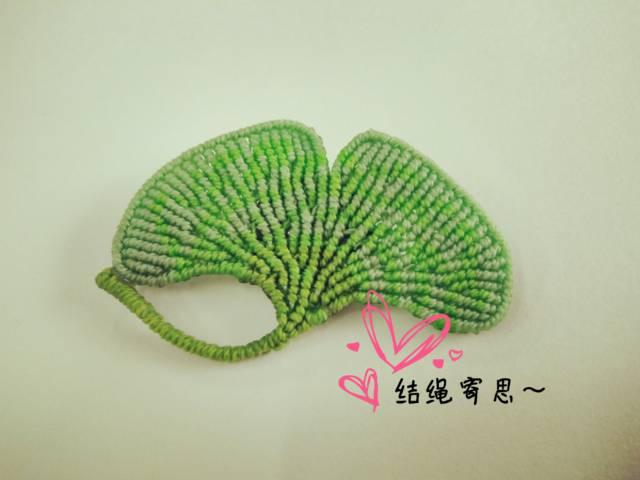 中国结论坛 银杏叶胸针  作品展示 094912tnypyngygvlrn32r