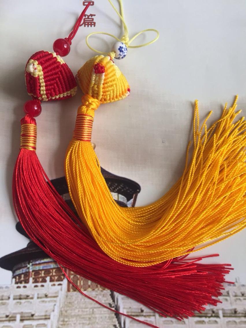 中国结论坛 再来一波72号线编织的粽子  作品展示 215929wig5z5g9a594z8zz