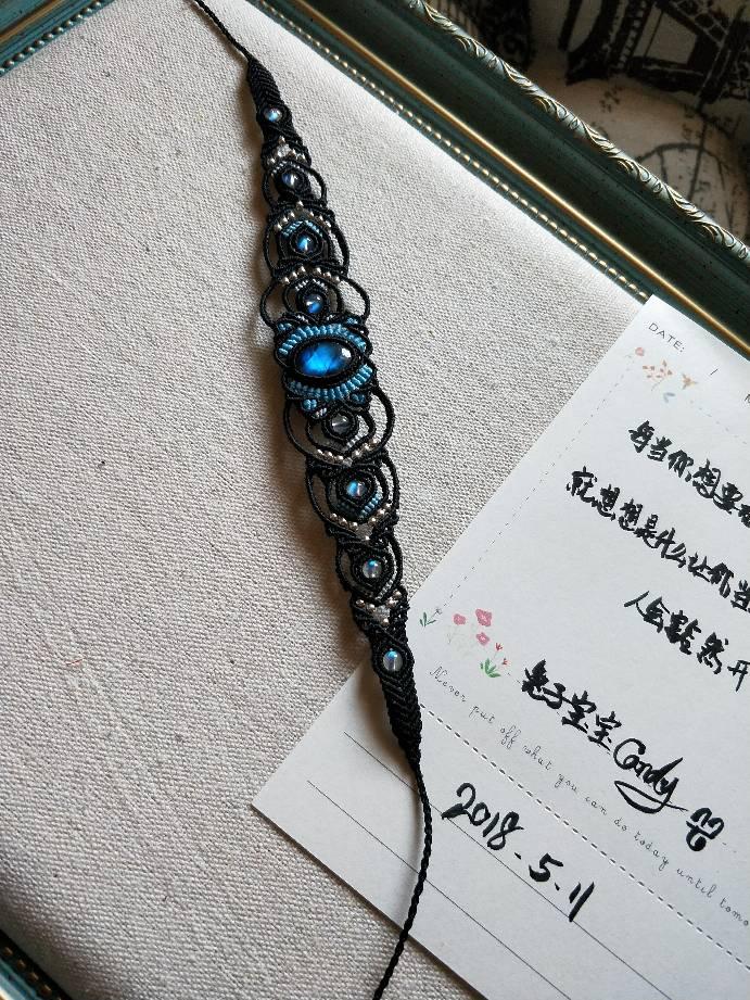 中国结论坛 拉长石配拉长珠子手链  作品展示 074624i1dmmweqdmo2y2ee