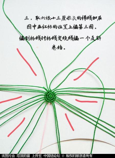 中国结论坛 十二生肖之小蛇  立体绳结教程与交流区 095300ckdmnjjikmm73i7i