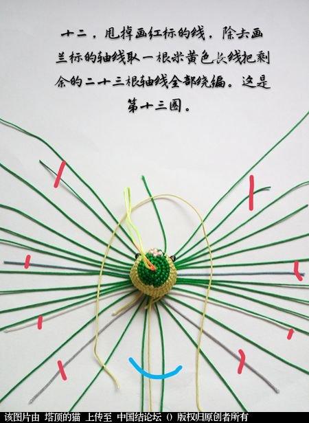 中国结论坛 十二生肖之小蛇 一条爱美,十二生肖,爱美,美的,一条 立体绳结教程与交流区 095306cgwyt26qu28oq9yy