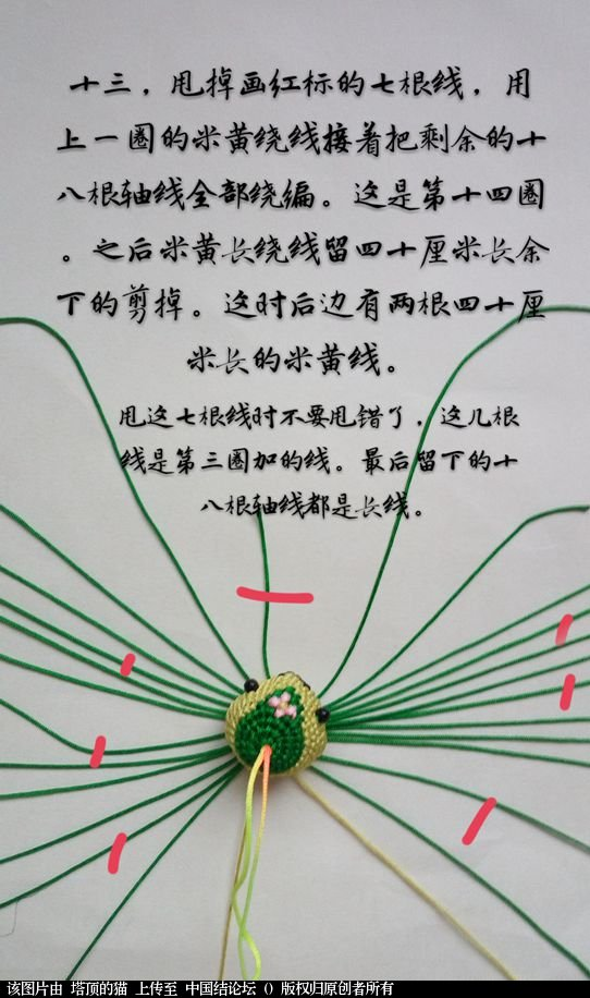 中国结论坛 十二生肖之小蛇  立体绳结教程与交流区 095307ebzb2x1zn00gpgpl