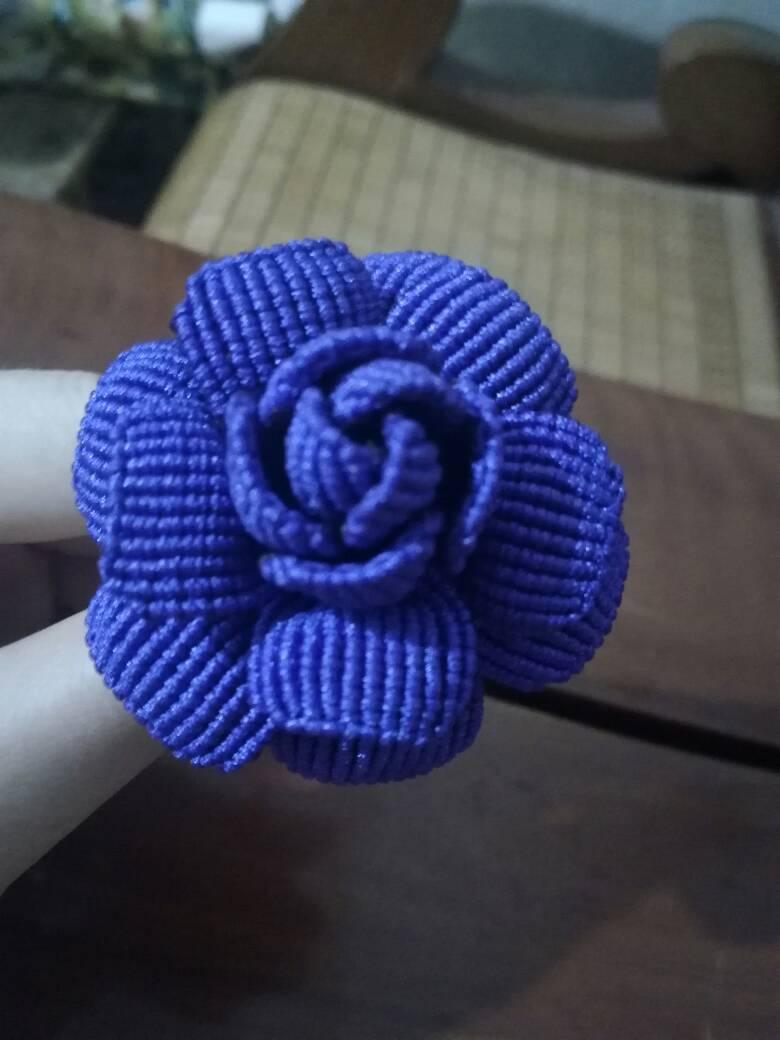 中国结论坛 终于编成了一朵玫瑰花!  作品展示 001212k701ngsjsngiz7iw