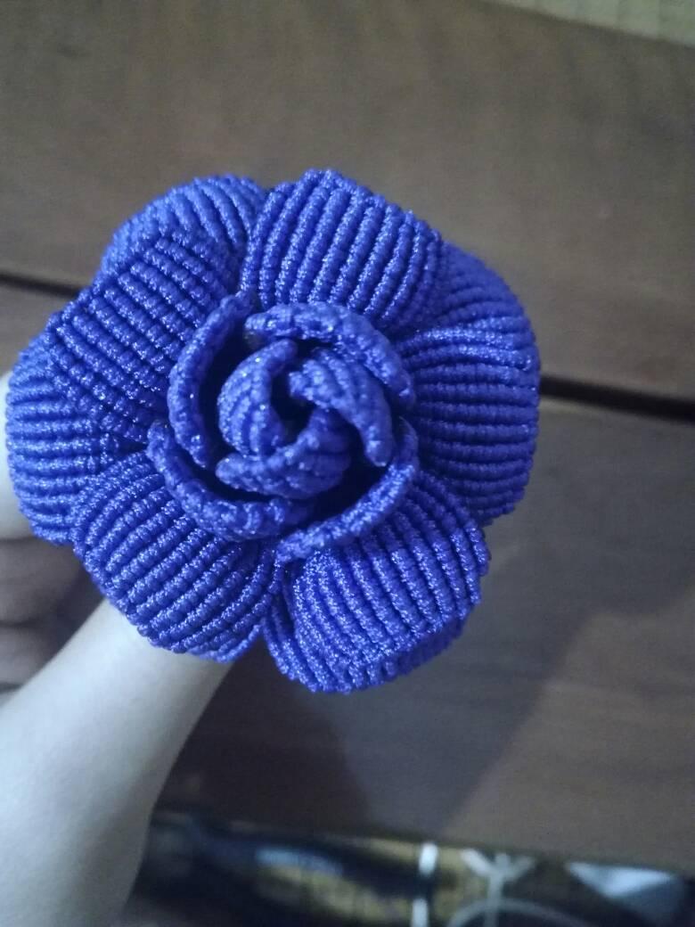 中国结论坛 终于编成了一朵玫瑰花!  作品展示 001213txwujxw5ez93iwez