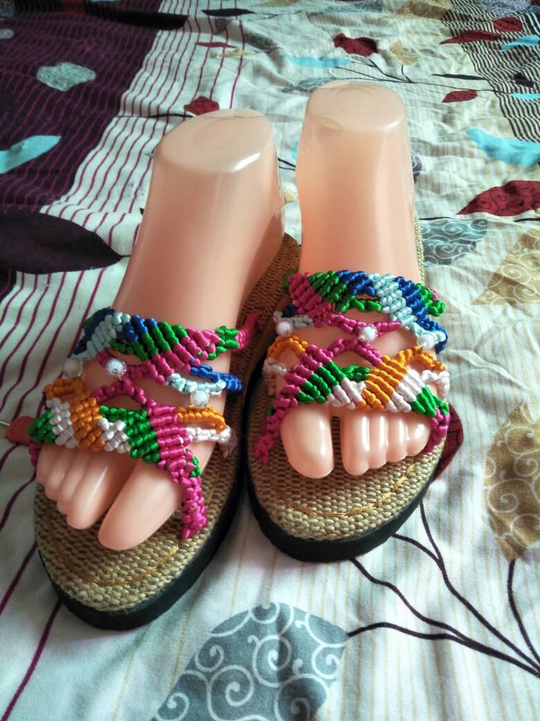 中国结论坛 编织拖鞋  作品展示 232241qtsngcng8z8h8t88
