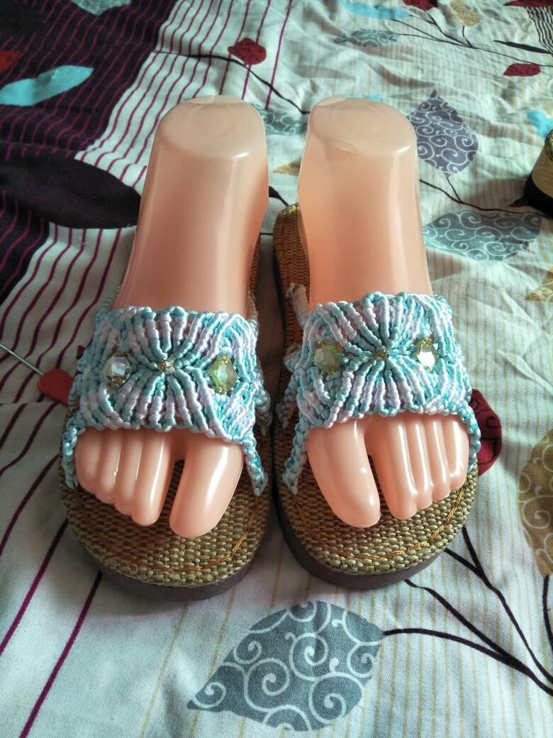 中国结论坛 编织拖鞋  作品展示 232242e19s6sm4zgtu7z6t