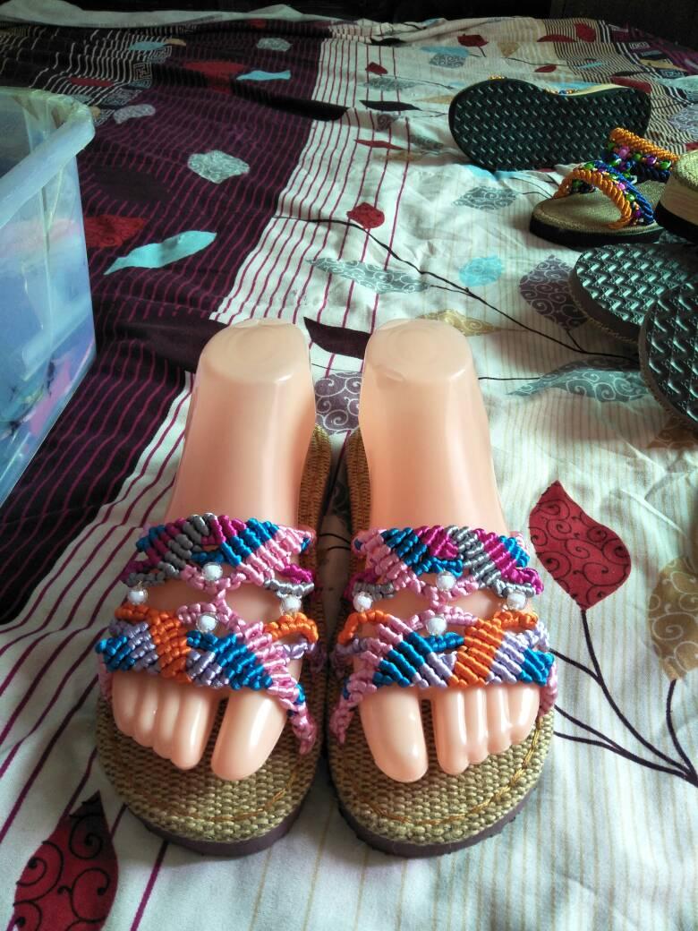 中国结论坛 编织拖鞋  作品展示 232245dspup1os00xsd930