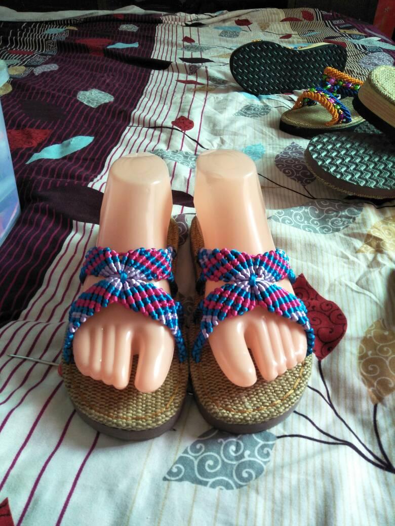 中国结论坛 编织拖鞋  作品展示 232250tamc287bf9rffbt7
