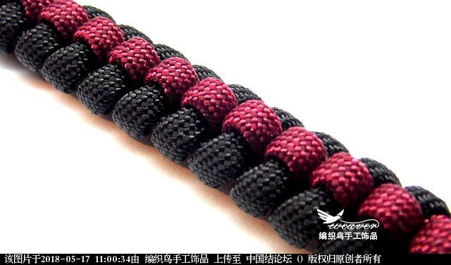 中国结论坛 简单的伞绳编织手环教程  图文教程区 105955fsm2ykwl3fplsjtm