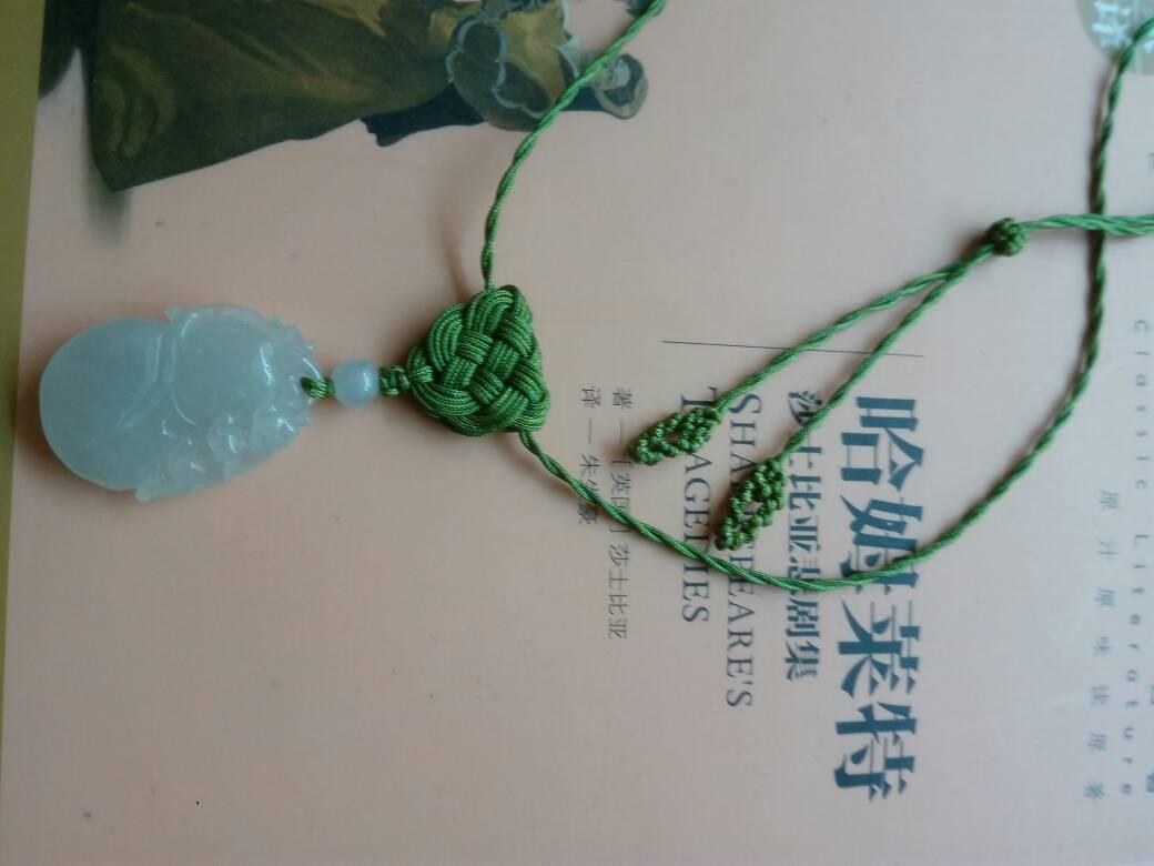 中国结论坛 请各位老师指点,项链颜色是不是很雷人啊  作品展示 120536b33u1s0ne0zivvm1