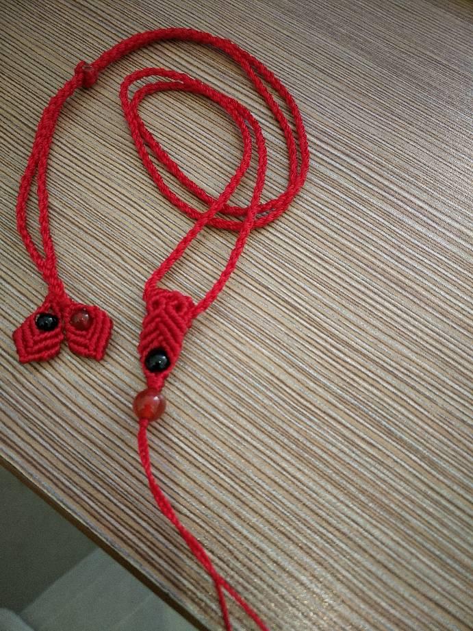 中国结论坛 手机链,五色莲花,手机挂饰,手链  作品展示 220348bspszhhj0osmmock