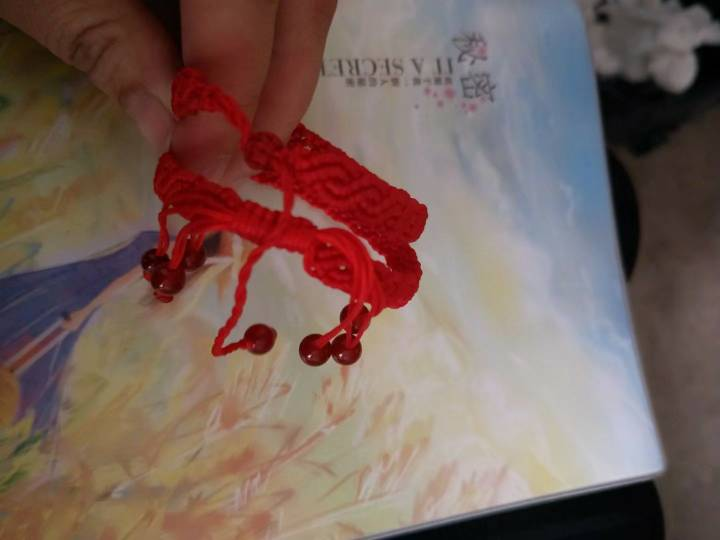 中国结论坛 别人定做的情侣本命红绳手链 手链,别人,定做,情侣,红绳手链 作品展示