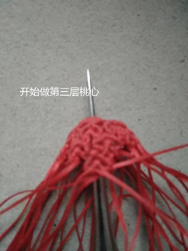 中国结论坛 流苏帽小教程  图文教程区 173558dvpemjlhxuoxthth