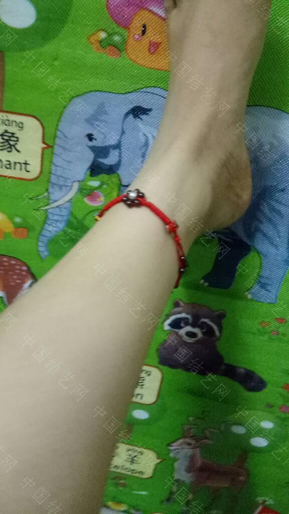 中国结论坛 红绳石榴石转运珠脚链 石榴石,脚链,转运,红绳,石榴 作品展示 040323vhsh0h26jqbjhuoj
