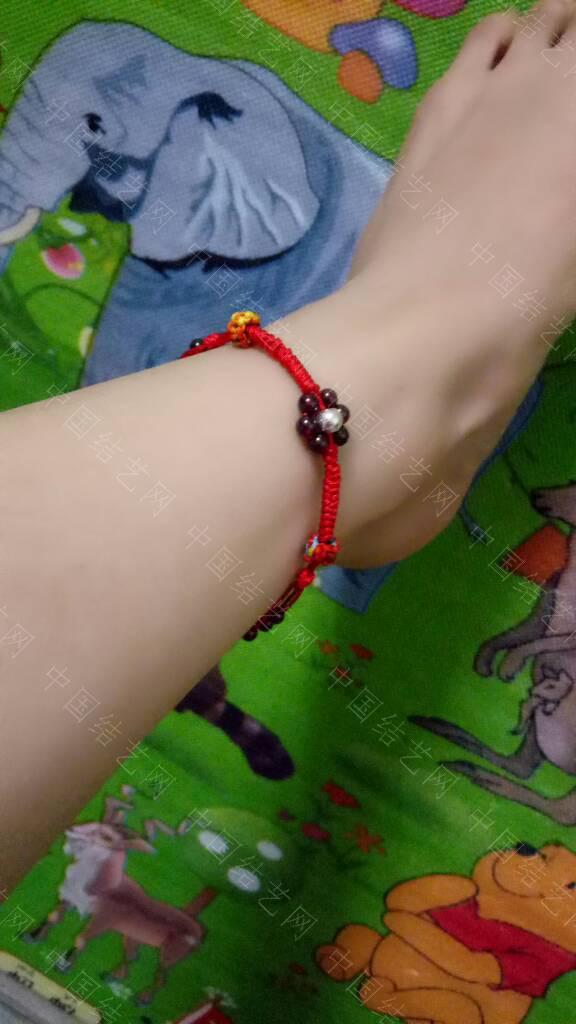 中国结论坛 红绳石榴石转运珠脚链 石榴石,脚链,转运,红绳,石榴 作品展示 040326l12h70vf17oda40d