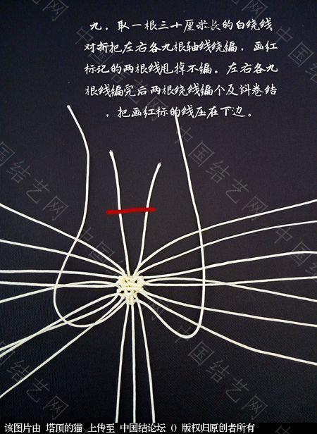 中国结论坛 十二生肖之小牛  立体绳结教程与交流区 223725vf39g20jg3ko360i