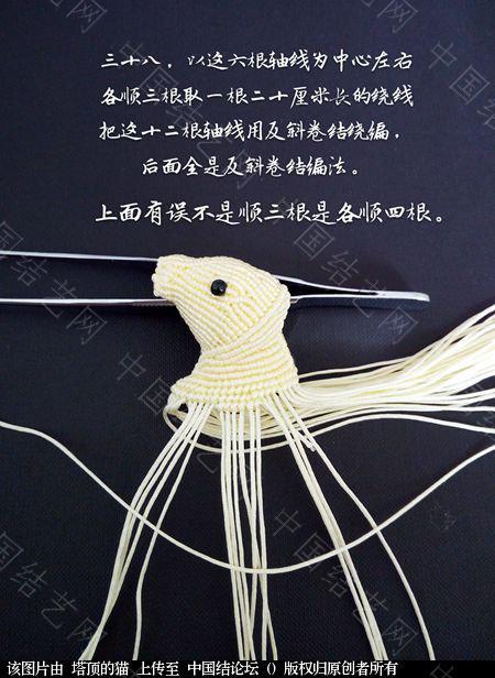 中国结论坛 十二生肖之小牛  立体绳结教程与交流区 223732i5fthhfhlzzthemx
