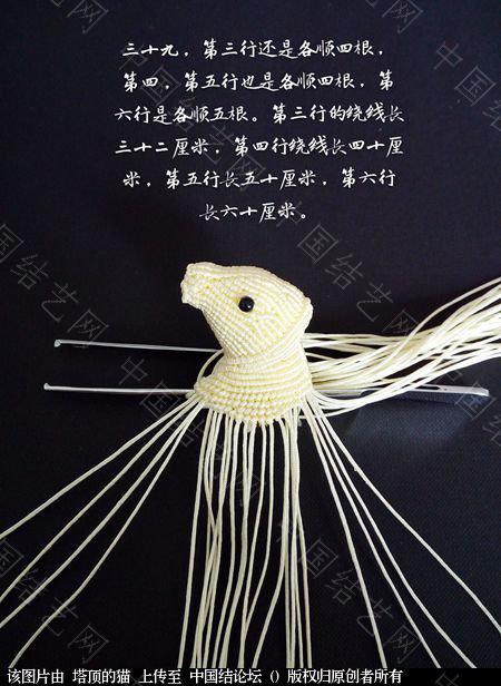 中国结论坛 十二生肖之小牛  立体绳结教程与交流区 223733jeehcorzyjzsr3ko