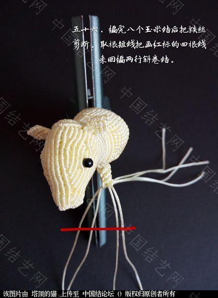 中国结论坛 十二生肖之小牛  立体绳结教程与交流区 223736yyp77958pt0t40pc