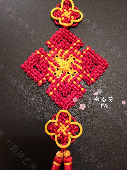 中国结论坛 盘长五回菱  作品展示 153628fh2sv7pmvom77ozf