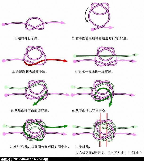 中国结论坛 有轴冰花套色流苏  作品展示 085715exjw5wammqqrrwgw