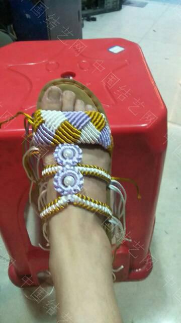 中国结论坛 三色格棱珍珠拖鞋  作品展示 191939otll5qzujmqqqoiq