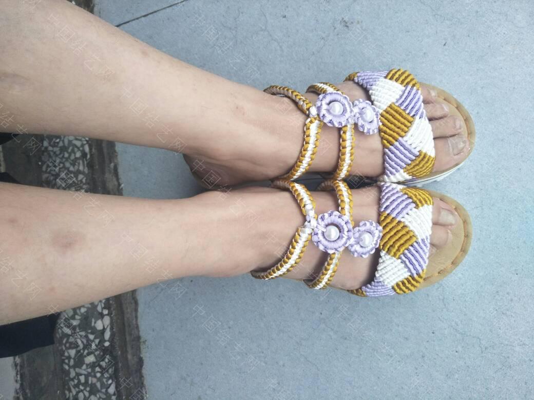 中国结论坛 三色格棱珍珠拖鞋  作品展示 191940s9wtdln9nz5dnn6w