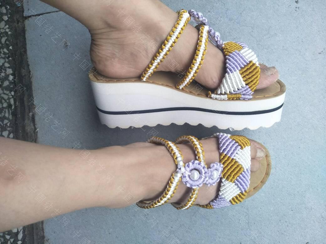 中国结论坛 三色格棱珍珠拖鞋  作品展示 191941gl3gmqmm3ozucw2v