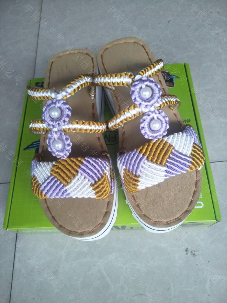 中国结论坛 三色格棱珍珠拖鞋  作品展示 191942w9xxx5xy0rvx9oxw